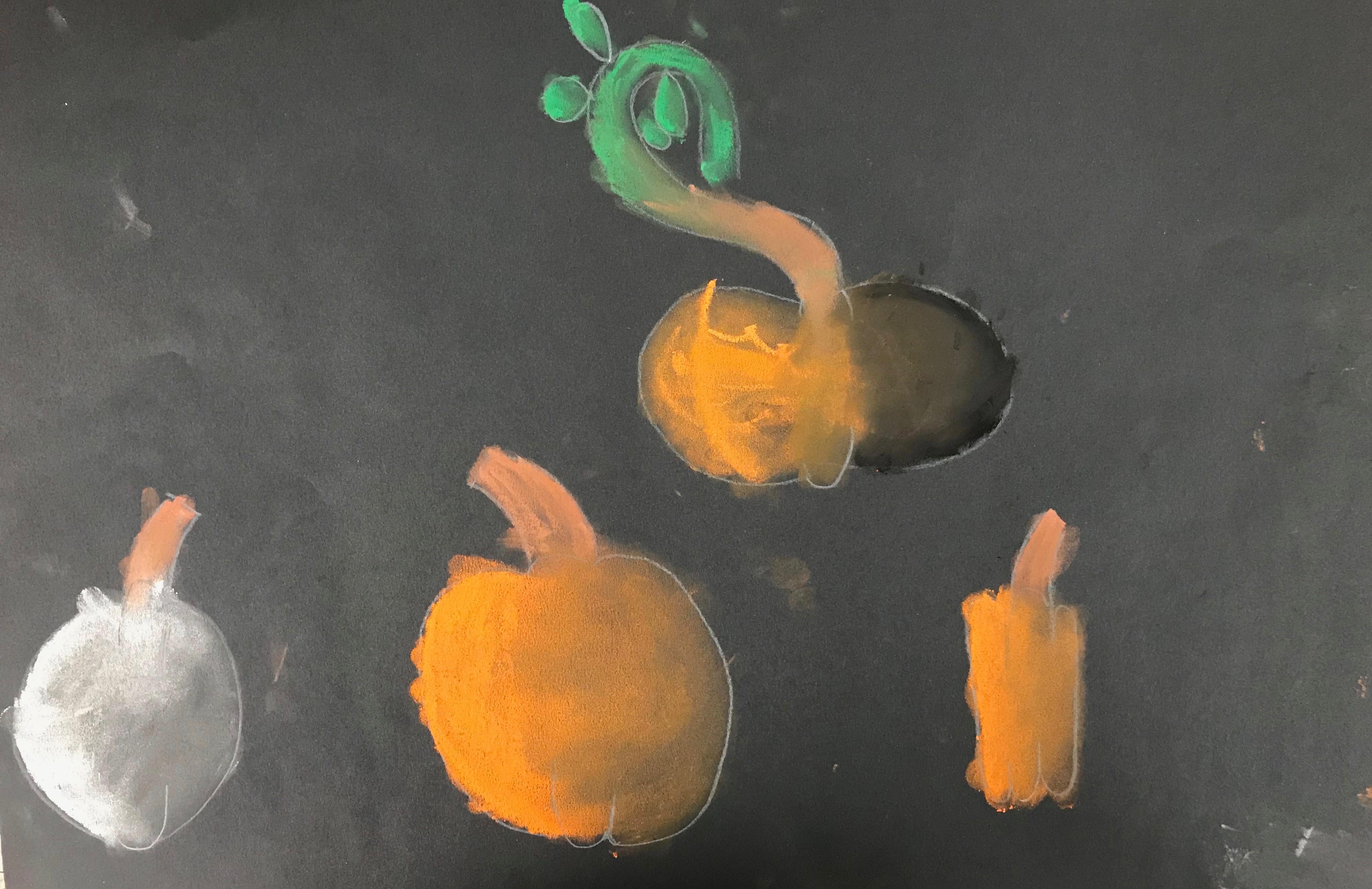Chalky Pumpkins