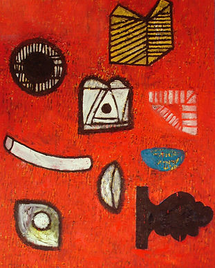 'Wheel Bowl Howl' 2007 oil on canvas 180