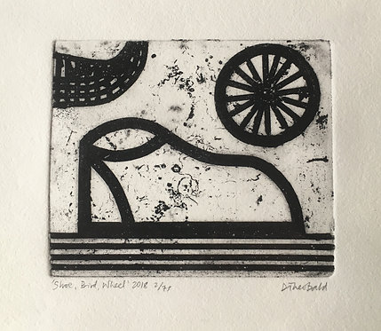 'Shoe, Bird, Wheel' 2018