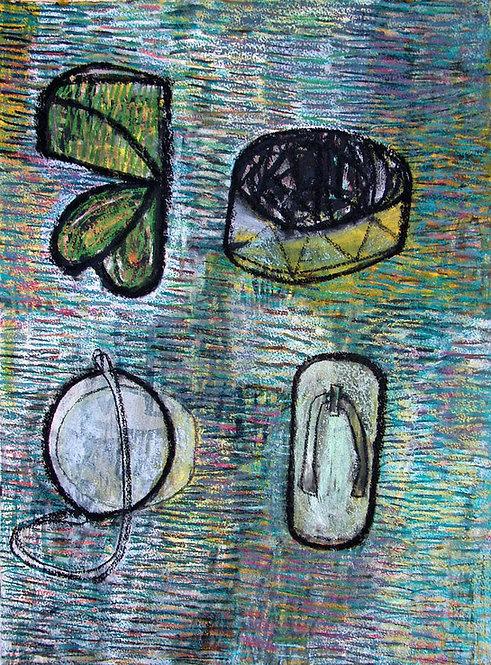 'Leaf, Drum, Lens, Shoe' 2006