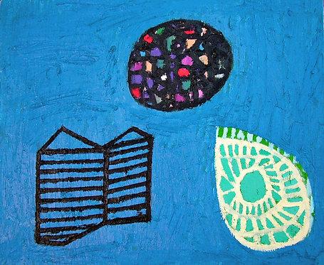 'Book, Stone, Leaf' 2005