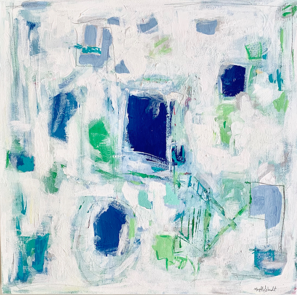 mixed media abstract