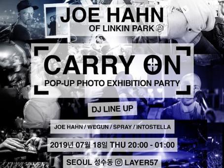 Joe Hahn Carry On Korean Photo Exhibition Launch