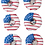 Thumbnail: American Flag Donuts (Qty 18)