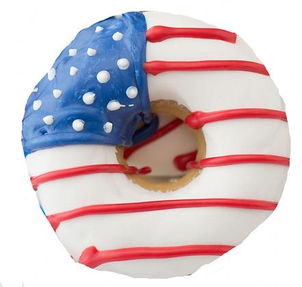 American Flag Donuts (Qty 18)