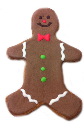 Holiday Gingerbread 5 Inch (Qty 3)