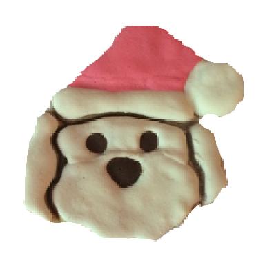 Santa Dog (Qty 12)