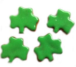 Mini Shamrocks 1 inch Decorated Per Pound