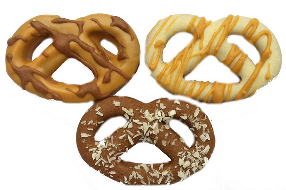 Pretzel Shaped Dog Treats (Qty 24)