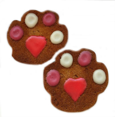 Valentine Paws (Qty 18)