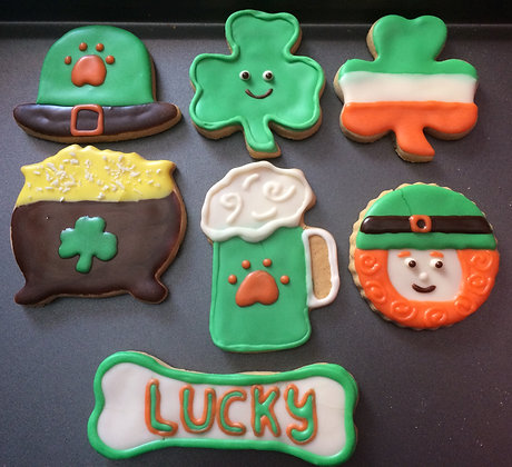 St. Patty's Day Cookie Assortment (Qty 12)