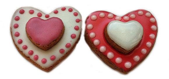 3D Hearts Qty 12