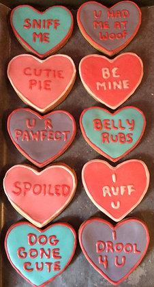 Sweet Hearts Qty 12