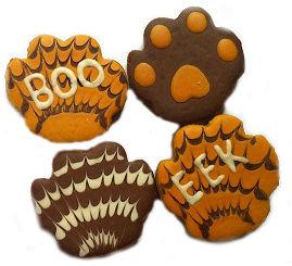 Halloween Dog Paws (Qty 24)