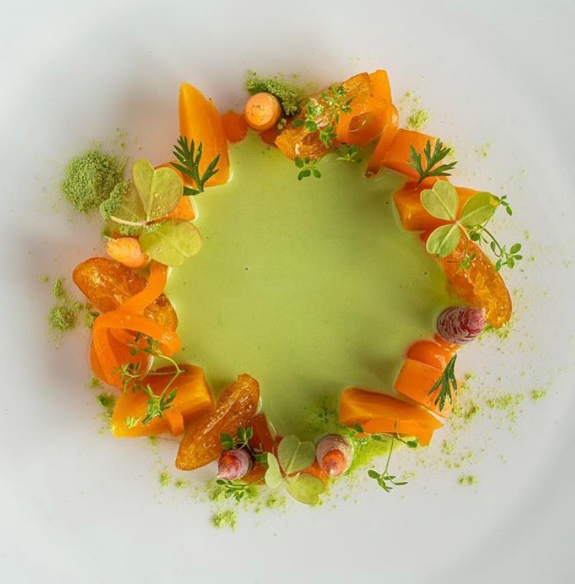 Peas and Carrots Dish
