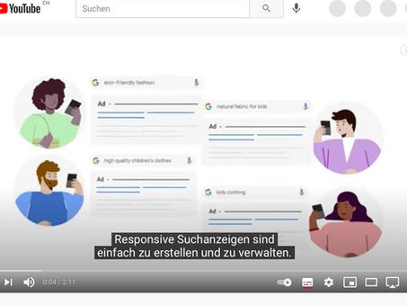 """Mehr Klicks und Conversions mit responsiven Suchanzeigen. """"Best Practices von Google Ads"""""""