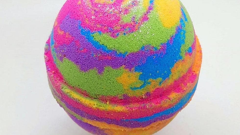 Rainbow Dust Bath Bomb