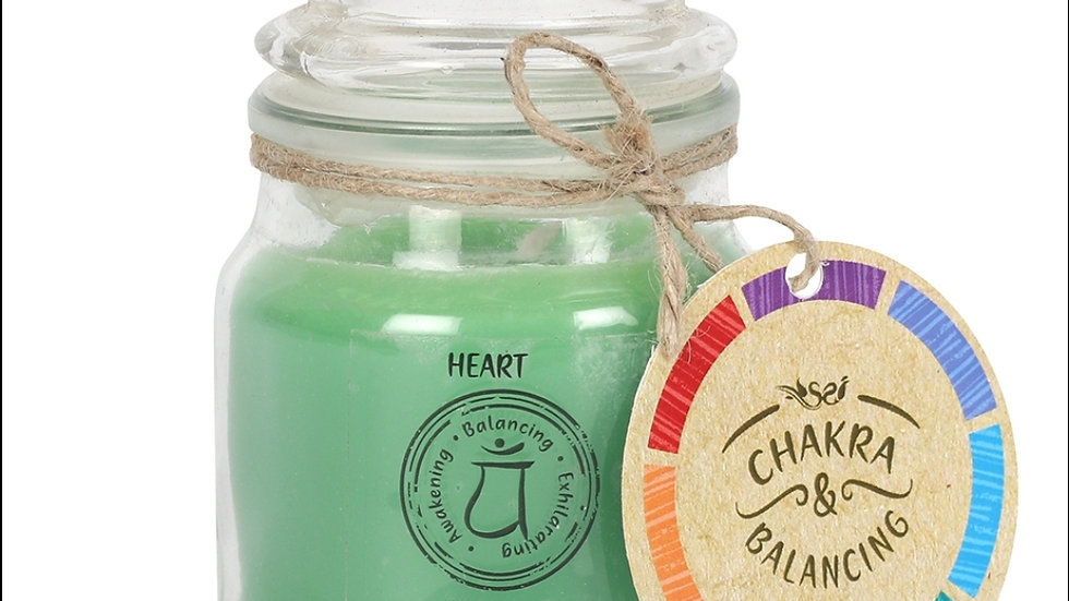 9cm Heart Chakra Scented Candle