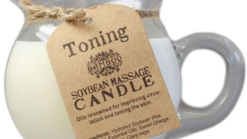 Massage Candle - Toning and Firming