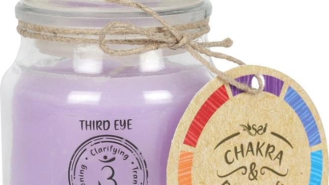 9cm Third Eye Chakra Candle