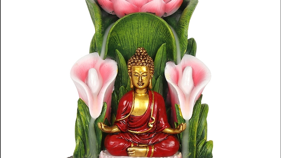 Colourful Budda Incense Burner