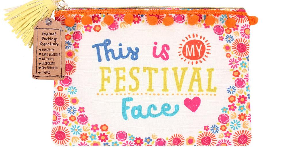 My festival face make up bag