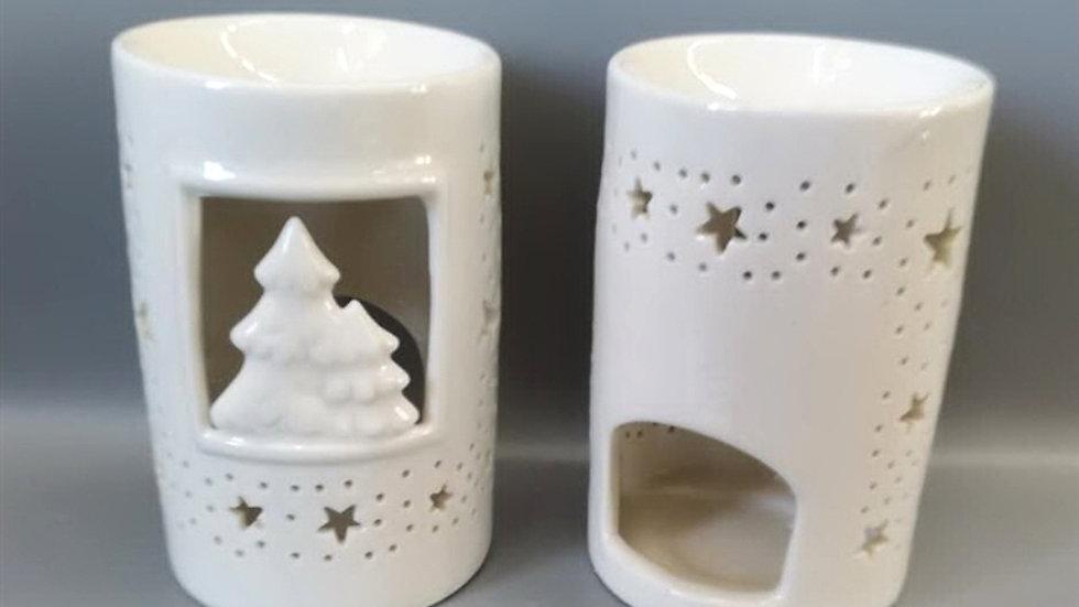 Christmas Scene Tea light Burner