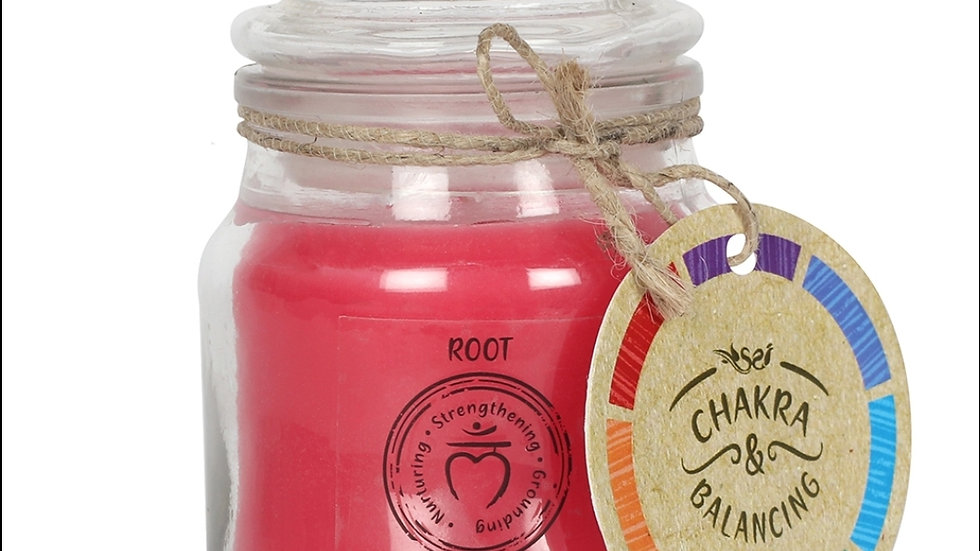 9cm Root Chakra Candle