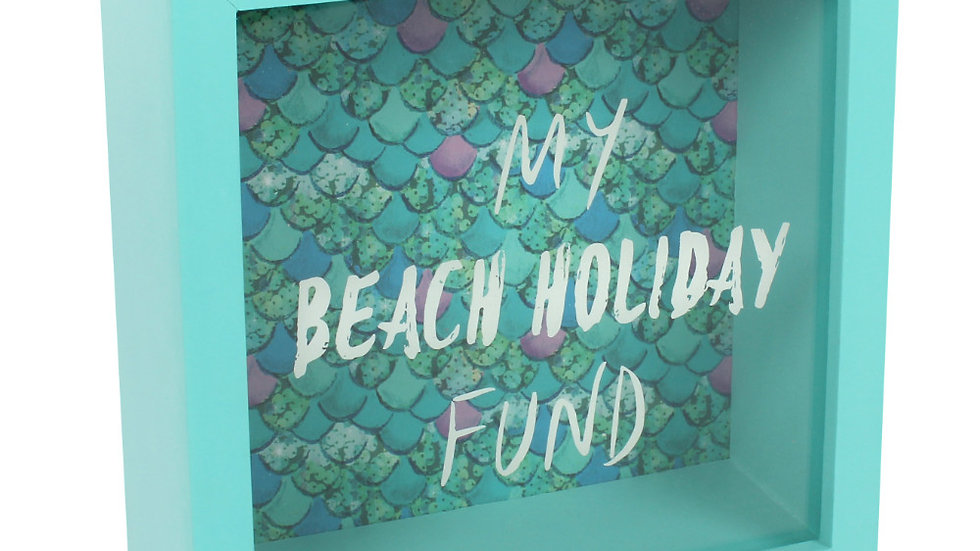 My beach holiday fund box