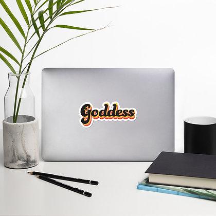 Goddess Sticker