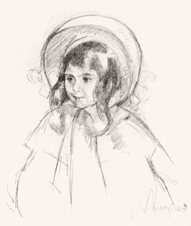 Sara Wearing Her Bonnet and Coat