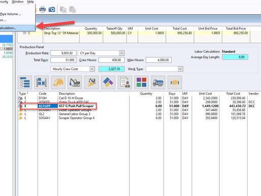 SharpeSoft Estimator: Equipment Hauling Calculation