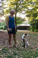 Ängstlichen Hunden Sicherheit geben - wichtig!