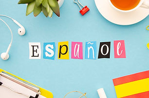 espanol-lettering-blue-background_23-214
