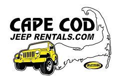 Cape Cod Jeep Rentals white cape outline
