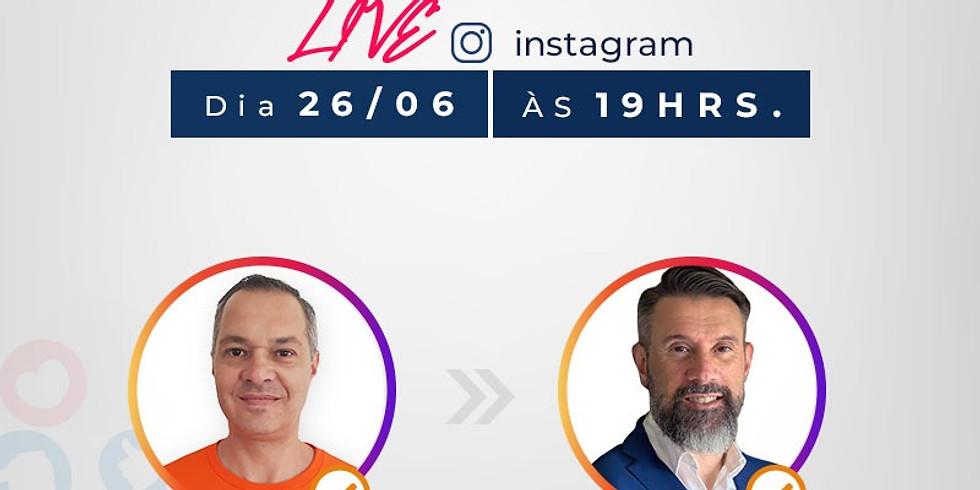 Live Instagram - Ney Green mentor e advisor de Startups