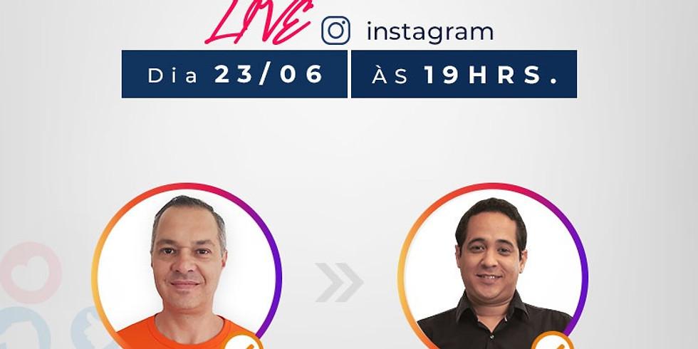 Live Instagram - Bate Papo com André Santos