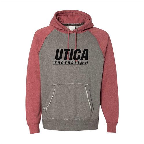 UFB J-America Vintage Hoodie Red D2