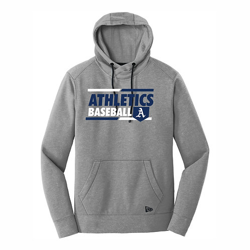 NEW Era® - GREY - Tri-blend Hoodie - A's D2