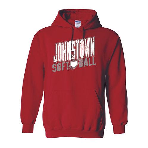 Hooded Sweatshirt - RED - JSB21 - D1