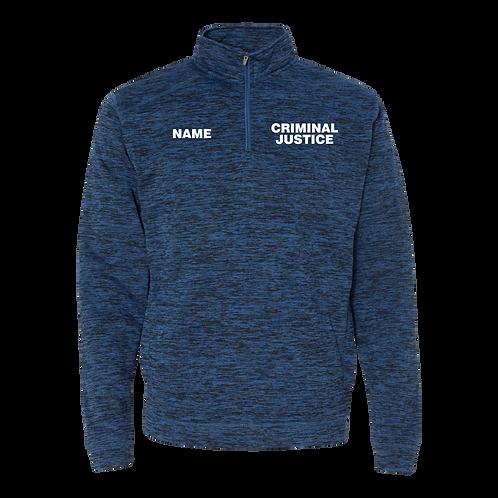 Criminal Justice 1/4 Zip Sweatshirt