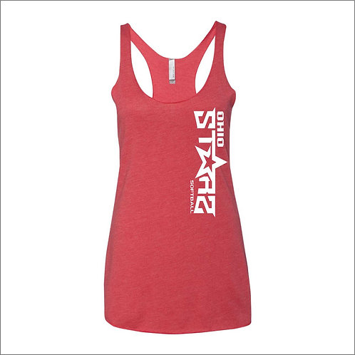 Ladies Tank Top - RED - D1 - OSS