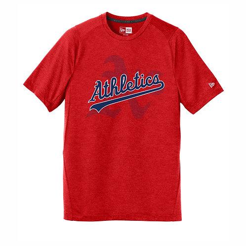 NEW Era® RED T-Shirt - A's D1