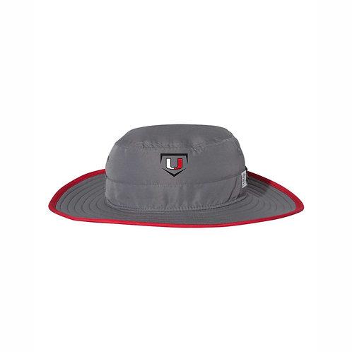 Bucket Hat - Grey/Red - UB2021