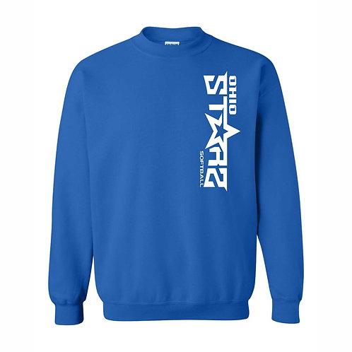 Crewneck Sweatshirt - BLUE - D1 - OSS