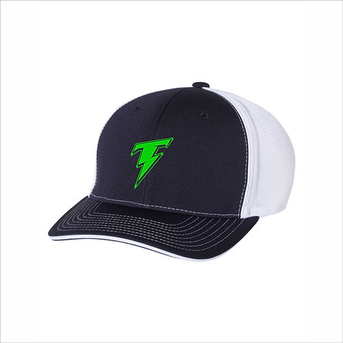 Thunder - Navy/White - Fitted Ball Cap