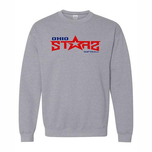 Crewneck Sweatshirt - GREY - D2 - OSS
