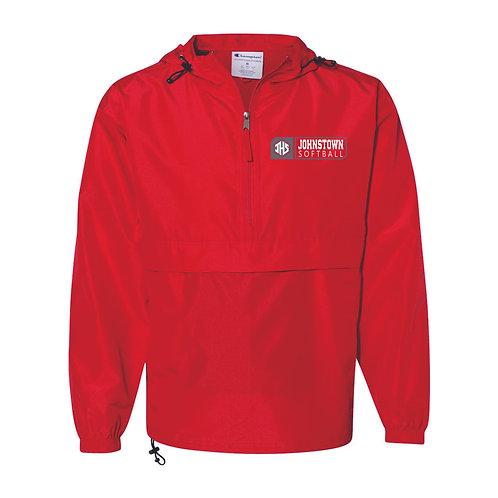 Jacket - RED - JSB21 - EMB