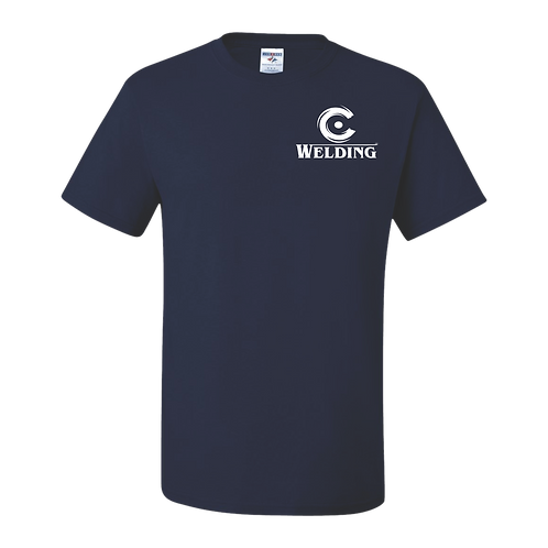 Welding Navy Blue T