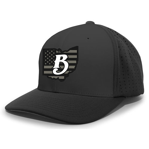 PERFORATED B HAT - OB8